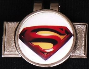 Superman Golf Ball Marker