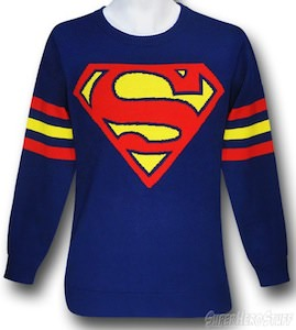 Superman Logo Sweater