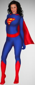 Supergirl Zentai costume