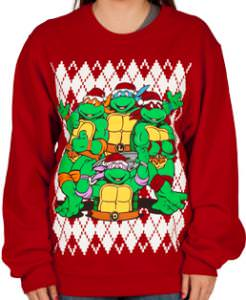 TMNT Christmas Ugly Sweater