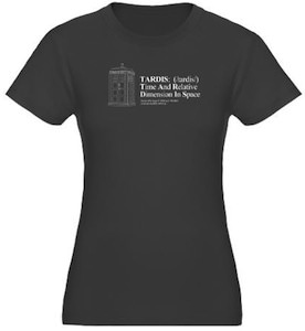 Doctor Who Tardis Definition T-Shirt