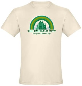 The Emerald City Original Green City T-Shirt