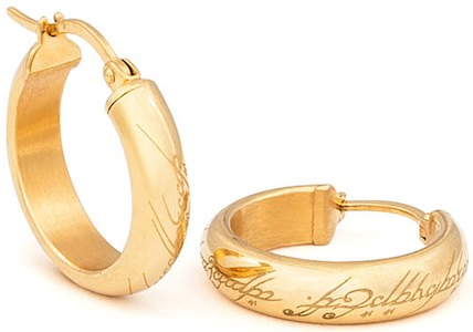 The Hobbit One Ring Earrings