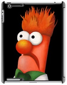 The Muppets Beaker iPad Case