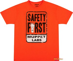 Beaker Muppet Labs Safety First T-Shirt