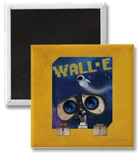 Wall-E And Eve Magnet