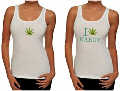 I Love Nancy Heath Sensitive Tank Top
