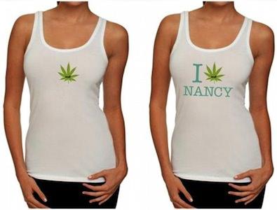 I Love Nancy Heath Sensitive Tank Top