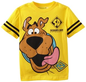 Yellow Scooby-Doo Kids T-Shirt