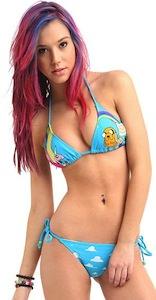 Adventure Time adult swimwear