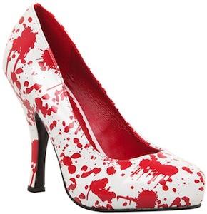 Dexter Blood Spatter High Heel Shoes