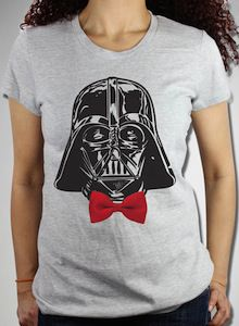 Star Wars Darth Vader Red Bow Tie T-Shirt