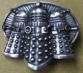 Dalek belt buckle