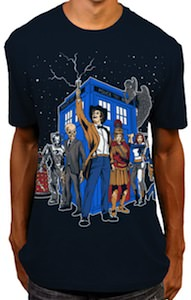 Doctor Who Master Of The Whoniverse T-Shirt