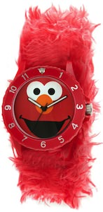 Sesame Street Elmo Furry Slap Watch