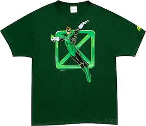 Green Lantern Square T-Shirt