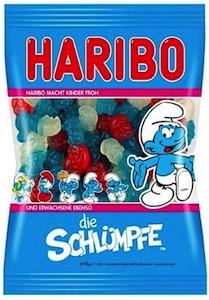Haribo Die Schlumpfe candy