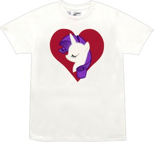 My Little Pony Rarity Heart T-Shirt
