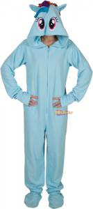 My Little Pony Rainbow Dash Footie Pajamas