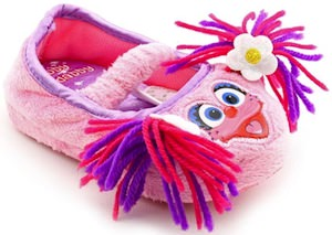 Sesame Street Abby Cadabby Slippers