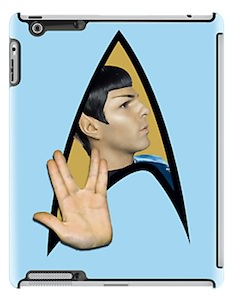 Star Trek Spock Live Long And Prosper iPad Case