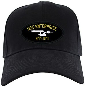 Star Trek USS Enterprise Cap