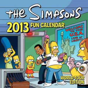 The Simpsons 2013 Wall Calendar