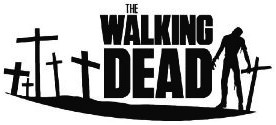 The Walking Ded Window Decal