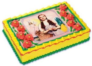 Dorothy Edible Cake Topper Image