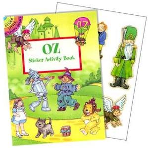 The Wizard Of Oz Sticker Book