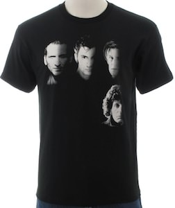 Doctor Who t-shirt with 4 doctors