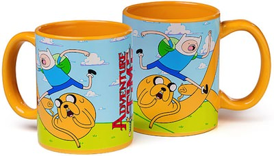 Adventure Time Strechted Out Mug
