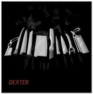 Dexter's Kill Tools Shower Curtain
