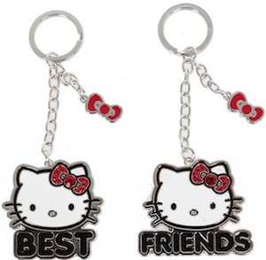 Hello Kitty Best Friends Key Chain Set