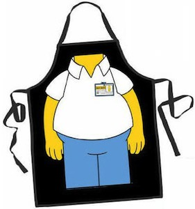 The Simpsons Character apron