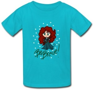Merida Be Brave T-Shirt