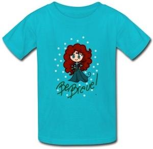 Merida Be Brave T-Shirt