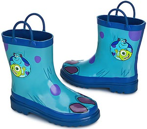 Monsters University rain boots for boys