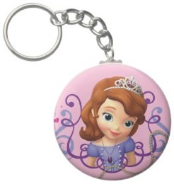 Disney Sofia The First Key Chain