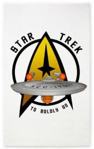 Star Trek Enterprise To Boldly Go Area Rug