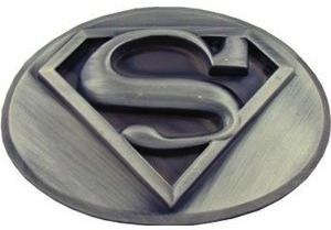 Superman Logo Belt Buckle