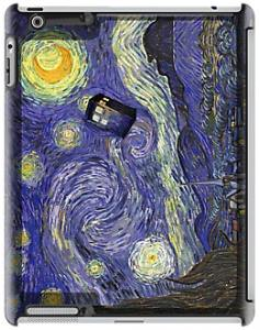 Doctor Who Tardis Vincent Van Gogh iPad Case