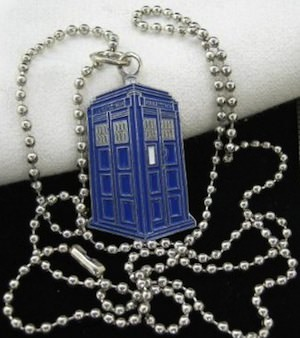 Tardis Pendant Necklace from Doctor Who