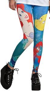 Disney Ariel The Little Mermaid Leggings