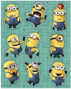 Despicable me Minions Stickers