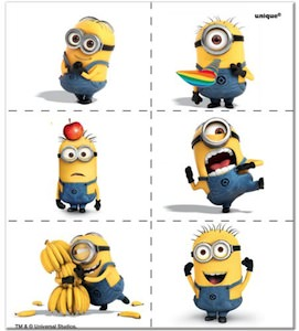 Despicable Me 2 Minion Tattoos
