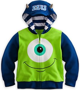 Monsters University Mike Wazowski Hoodie