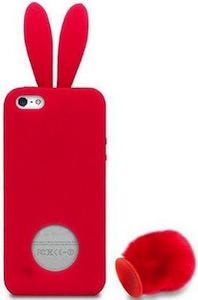 watch dcaef e2df6 New Girl Red Bunny iPhone Case