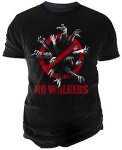 The Walking Dead No Walkers T-Shirt