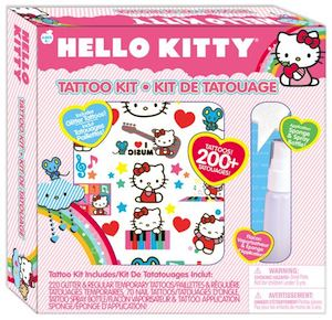 Hello Kitty Temporary Tattoo Kit